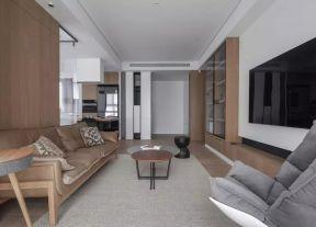 皮沙發裝修效果圖 客廳沙發實景圖 客廳沙發效果圖