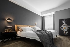 現代臥室裝修設計 臥室背景墻設置圖片 臥室背景墻設計圖