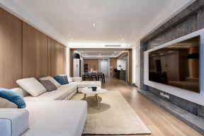 布藝沙發圖片大全 布藝沙發設計 客廳背景墻裝飾效果圖