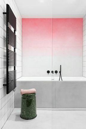 衛生間毛巾架裝修圖片 衛生間浴缸效果圖 衛生間浴缸裝修效果圖