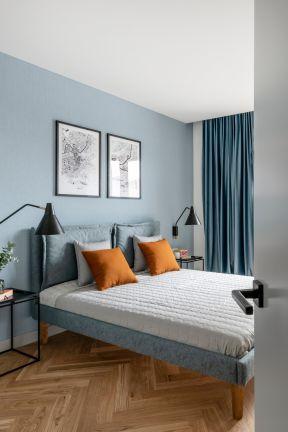 歐式臥室效果圖片 臥室背景墻設置圖片