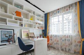 書房窗簾效果圖大全 書房書柜的設計 書房書柜設計效果圖