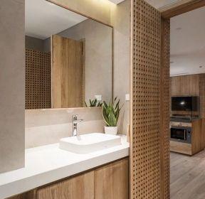 110平方現代風格衛生間木門裝修效果圖-每日推薦