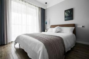 臥室窗簾裝飾圖片 現代臥室裝修  現代臥室裝修風格效果圖
