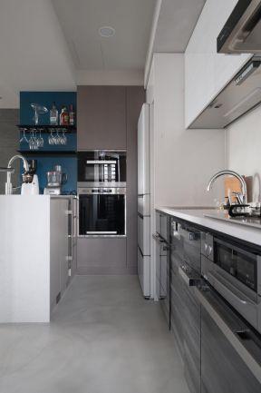 現代廚房設計圖片大全 現代廚房家裝效果圖