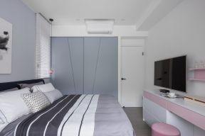 臥室衣柜裝潢效果圖 簡約臥室裝修 簡約臥室圖