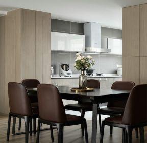 110平方三居室餐廳裝修效果圖大全-每日推薦