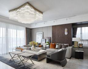 客廳水晶燈具圖片大全 現代客廳裝修設計