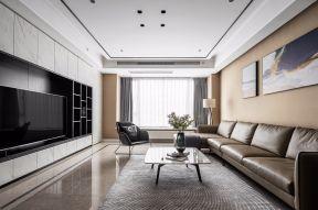 客廳真皮沙發效果圖 客廳真皮沙發 客廳天花板
