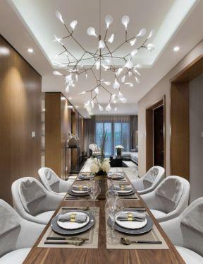 餐廳燈具裝修效果圖 新房餐廳裝修效果圖