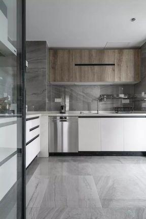 廚房吊柜設計圖片 現代廚房裝飾 現代廚房裝修效果