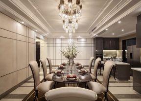 大戶型餐廳裝修效果圖 大戶型餐廳圖片 餐桌椅設計