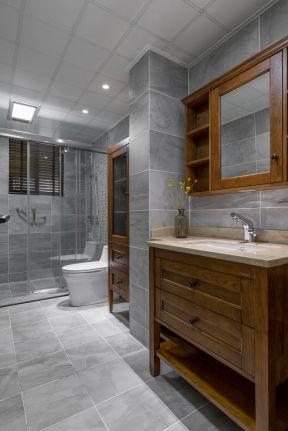美式衛生間裝修效果圖 美式衛生間裝修效果圖