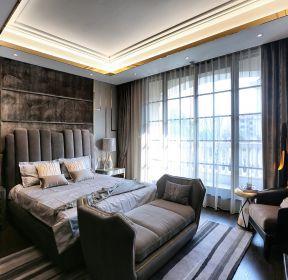 大戶型房屋主臥室床尾凳裝修設計效果圖-每日推薦