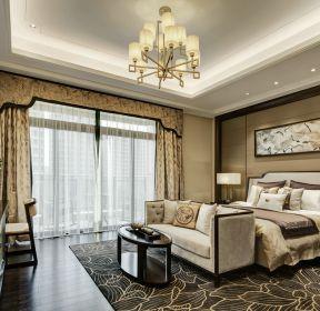 大戶型新古典風格臥室裝修效果圖片-每日推薦