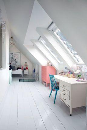 閣樓兒童房裝修效果圖 閣樓兒童房 兒童房設計效果圖大全