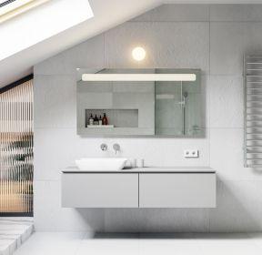 閣樓衛生間洗手臺裝修效果圖大全-每日推薦