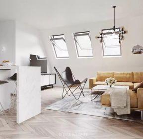 閣樓小公寓客廳裝修效果圖大全-每日推薦