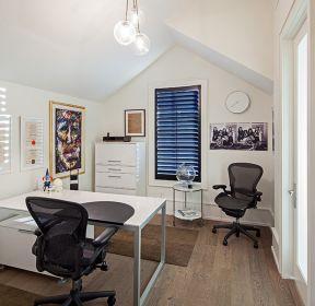閣樓書房書桌裝修效果圖大全-每日推薦