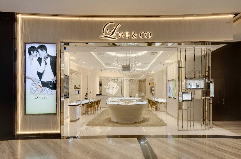 东莞店面珠宝衣服门头装修设计图关于商场v店面图片素材图片