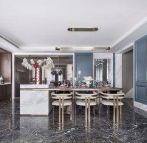 樣板房裝修現代法式風格餐廳效果圖-每日推薦