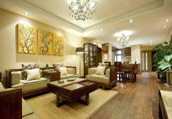 東南亞風格客廳家具沙發裝修布置圖片