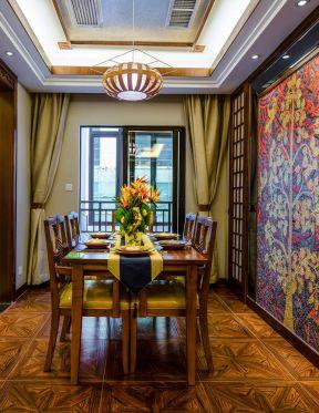 東南亞餐廳家具 東南亞餐廳設計
