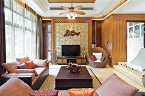 東南亞客廳風格  東南亞客廳裝修