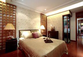 臥室床頭背景墻圖片大全 東南亞臥室裝修效果圖