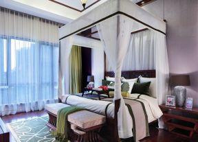 東南亞風格臥室 東南亞臥室裝修效果圖