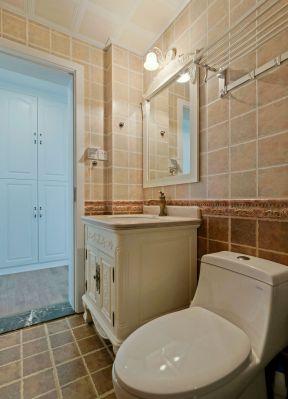 美式衛生間裝修設計 美式衛生間圖片 美式衛生間裝修圖