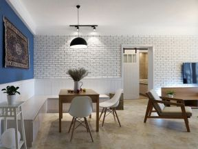 文化磚裝修效果圖 歐式餐廳裝修圖 歐式餐廳裝修效果圖