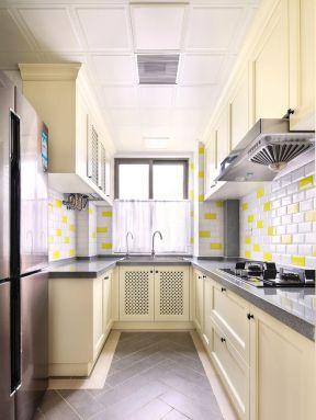 u型廚房 u型廚房裝修設計效果圖