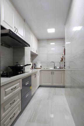 廚房轉角柜設計 廚房櫥柜效果圖片欣賞