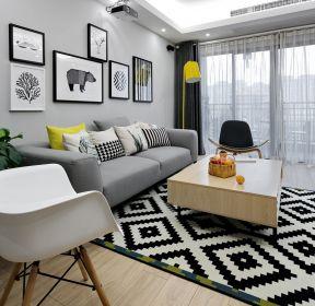 100平米客廳沙發背景墻裝修效果圖一覽-每日推薦