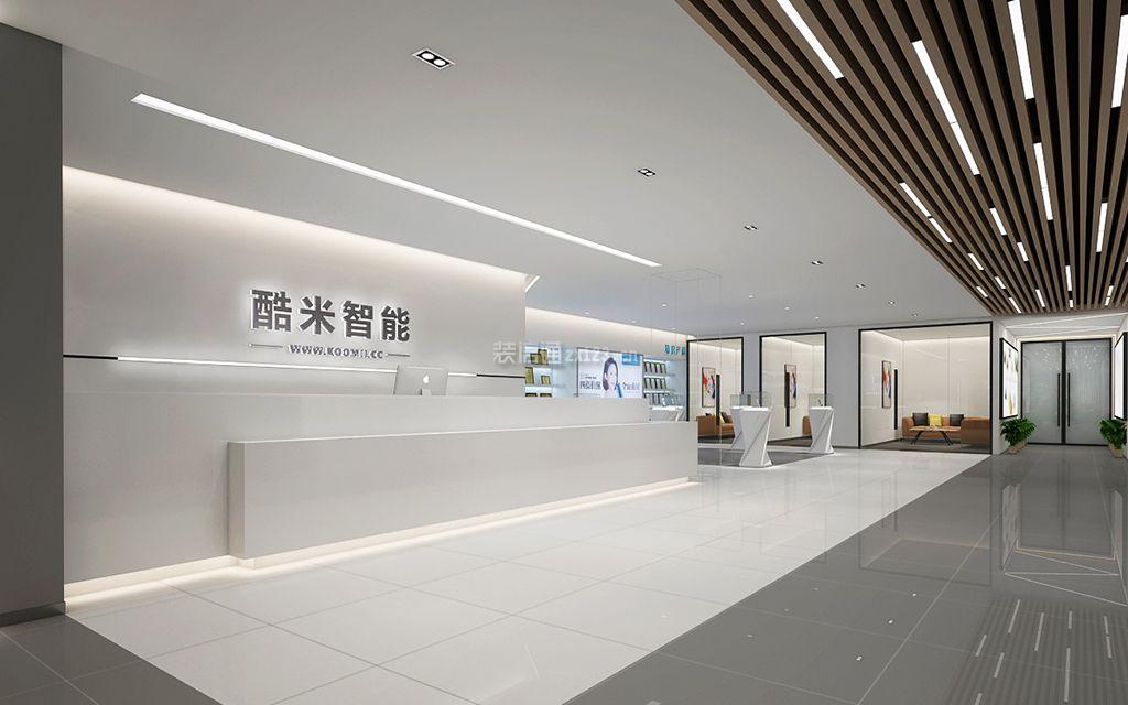 深圳装修公司前十强:酷米办公室装修效果图
