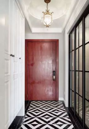 進門玄關柜效果圖 進門玄關柜設計裝修效果圖