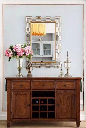 收納柜效果圖 美式風格柜子圖片