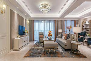 西溪碧桂园现代风格146平米四居室装修案例