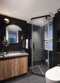 90平米衛生間淋浴房裝修效果圖大全