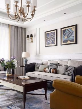 沙發背景墻裝修設計 沙發背景墻的裝飾