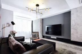 簡約電視墻造型圖 現代電視墻裝修效果圖 現代電視墻裝修風格