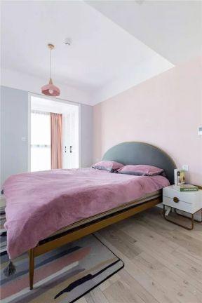 臥室粉色裝修效果圖 臥室粉色圖片