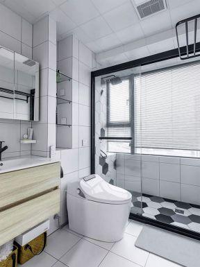 現代衛生間裝修圖 現代衛生間裝修效果圖大全