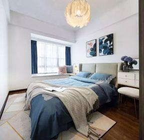 65平米兩室一廳臥室吊燈裝修效果圖-每日推薦