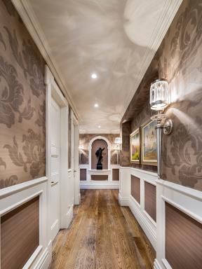 別墅走廊效果圖 別墅走廊設計 別墅過道設計效果圖