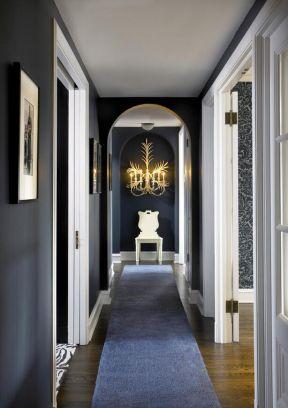 公寓走廊設計 歐式走廊裝修效果圖