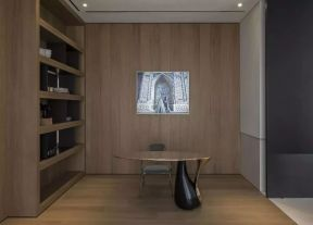 書房創意設計效果圖 書房創意裝修 簡約書房裝修設計