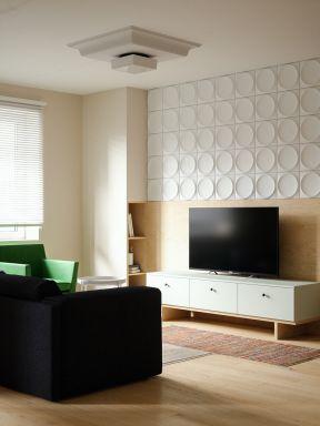 客廳電視柜裝修圖片 客廳電視柜圖 簡約客廳裝潢設計效果圖