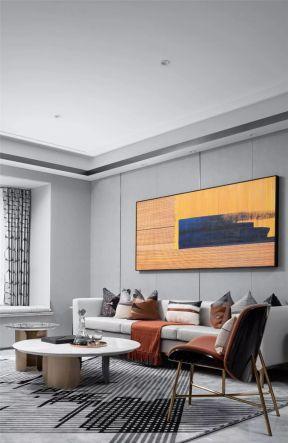 客廳背景墻裝飾設計 簡約客廳裝潢設計效果圖